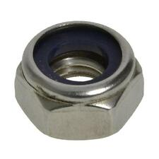 Qty 30 Hex Nyloc Nut M8 (8mm) Stainless Steel SS 304 A2 70 Lock Insert