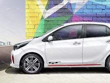 6 x Kia GT Aufkleber für Tür passt Rio Ceed Sportage Optima Emblem Logo #5