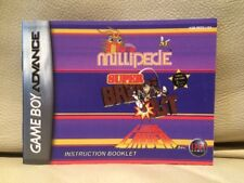 MILLIPEDE/SUPER Breakout/LUNAR LANDER NINTENDO GAME BOY ADVANCE istruzioni