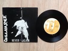"""DISCHARGE . NEVER AGAIN 7"""""""
