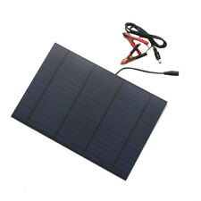 18V 10W Cell Solar Panel Module Battery Charger For Boat Car ATV Camping