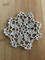 "12Pcs/Lot Vintage Hand Crochet Lace Doilies Coasters Cotton Small 4"" Item3"
