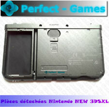 NINTENDO NEW 3DS XL original bottom back rear faceplate cover case battery black