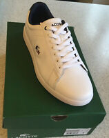 New Mens Lacoste Carnaby white trainers Size UK 8 £59.99 or best offer RRP £94