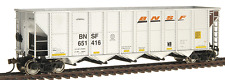 WALTHERS 932-7830 RD4 COAL HOPPER 6 PACK  BNSF SWOOSH / NEW SCHEME