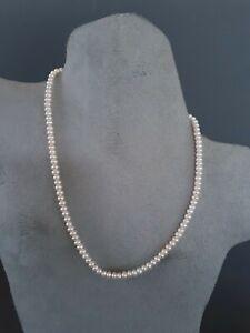Vintage Pearls & 10k gold necklace & bracelet