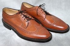 NETTLETON CLASSIC OAK BROWN WINGTIP MENS 9 D DRESS SHOES NEW TRADITIONAL VINTAGE