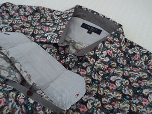 """TED BAKER Mens Shirt 🌍 Size 3 (CHEST 38"""") 🌎 RRP £65-129+📮FLORAL LIBERTY STYLE"""