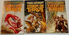 Piers Anthony Tarot Trilogy Complete Lot Of 3 Pbs  Rowena Morill Covers  Fantasy