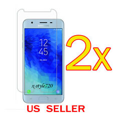 2x Clear Screen Protector Guard Cover Film For Samsung Galaxy J3 (2018)