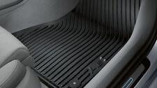 Original Audi A6 4G C7 Gummimatten Gummifußmatten Set vorn + hinten schwarz