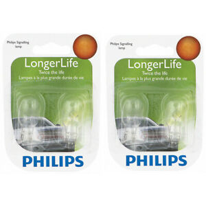 2 pc Philips 912LLB2 Long Life Back Up Light Bulbs for BP912LL Electrical ng