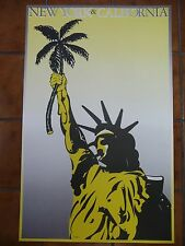 Statue Of Liberty Giant 1 Piece  Wall Art Poster O136