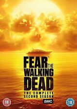 Fear the Walking Dead Complete Series 2 DVD All Episode Second Season UK R2 NEW