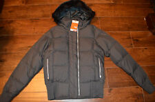 New Nike Womens Down 550 Filled Hooded Winter Jacket Coat $180 Retail xs x-small