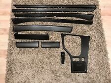BMW 5 series e39 Black Carbon Fiber Wrapped Interior Trim Set