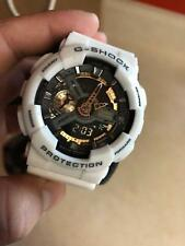 Casio G-SHOCK GA110RG-7A WHITE BLACK GOLD Standard Analog-Digital Watch