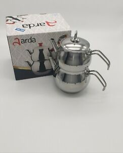 muxiao Teekanne Edelstahl Herd 3L Teekessel Herd Camping Wasserkocher Ofen Teekanne Werkzeuge