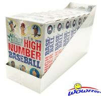 2018 Topps Heritage High Number Baseball HANGER CASE-8 Factory Sealed Box! HOT!