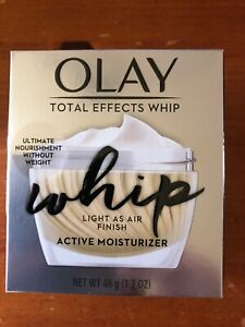 NEW Olay Total Effects Whip Active Moisturizer 1.7 oz.