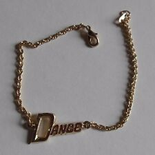 """NEW Lot of 2 goldtone Lobster claw closure anklet """"Dance"""" 8 3/4"""" long"""