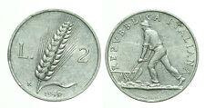 pci0218) Italia Repubblica in Italma - lire 2 1949 Spiga