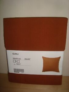 """IKEA GURLI Cushion Cover 20x20"""" Variety of Colors Cotton Throw Pillow Covers NEW"""