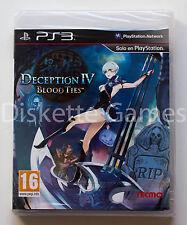 DECEPTION IV BLOOD TIES - PLAYSTATION 3 PS3 PLAY STATION - PAL ESPAÑA - NUEVO 4