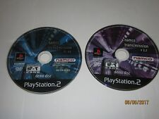Playstation 2 - PS2 - Lot Of 2 Namco TransMission Demo Games - Disc Only