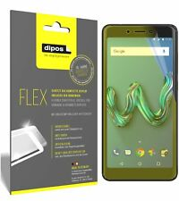 3x Wiko Tommy 3 Screen Protector Protective Film covers 100% dipos Flex