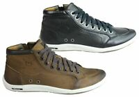 NEW FERRICELLI JORDAN MENS LEATHER DRESS CASUAL BOOTS MADE IN BRAZIL