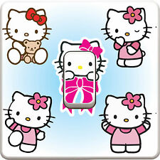 Hello Kitty Light Switch Vinyl Sticker Decal for Kids Bedroom #91