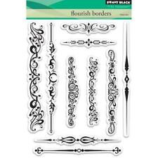 Penny Black Clear Stamps - Flourish Borders 30-462