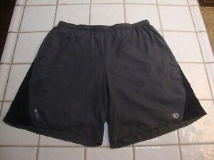 Pearl Izumi ELITE Series Running Shorts Gray Boxer Lined Bike Cycling Mens XL
