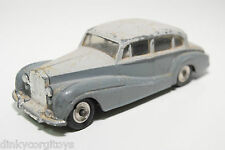 DINKY TOYS 150 ROLLS ROYCE SILVER WRAITH GREY EXCELLENT CONDITION