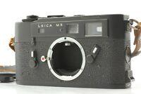*NEAR MINT* Leica M5 Late Model Black 35mm Rangefinder Film Camera Body JAPAN