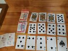 Budweiser Beer Used Deck of Playing Cards Complete w Jokers Queen Misprint