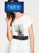 Rick Cardona by Heine T-shirt grande Forme, blanc. Taille 36/38. Neuf!!! Kp 29,90 €