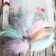 Turkey Feathers 100 pcs 10-15 cm / 4-6 Inches Wedding Decoration Plumes Clothing