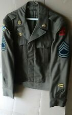 WW2 U.S. ARMY ENLISTED UNIFORM IKE Jacket, multiple tours