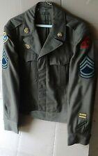 WW2 U.S. ARMY ENLISTED UNIFORM IKE Jacket, multiple tours