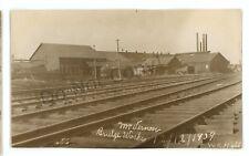 RPPC Mount Vernon Bridge Works Railroad Factory MT VERNON OH Real Photo Postcard