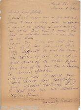 Pyotr Pavlenko REAL hand SIGNED Vintage Letter ALS COA USSR Autographed