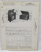 Vintage Sams Photofact Folder Majestic Model 8S452 & 8S473 Radio Parts Manual