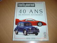 Auto Journal 40 ans de passion automobile