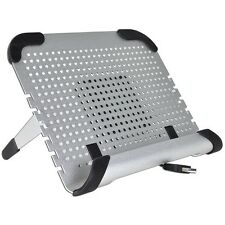 Aluminum Netbook Notebook Cooler Pad with Removable 80mm Fan