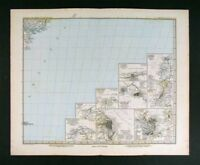 1882 Petermann Map  South America City Plans - Rio Lima