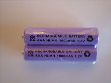 BT FREELANCE XB2500 XD7500  2x 1.2V 1800 mAh RECHARGEABLE BATTERIES