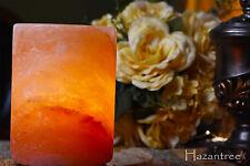 Hazantree Himalayan Natural Air Purifier Rock Crystal Cylinder Salt Night Lamp