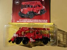 n° 115 MAGIRUS DEUTZ KW 16 Camion POMPIERS de BRAUNSCHWEIG ALLEMAGNE 1/43 Neuf
